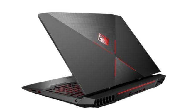 HP OMEN X 17-AP003NE Gaming Desktop - Core i7 2.9GHz 32GB 1TB+256GB 8GB Win10 17.3inch UHD Shadow Black/Aluminium