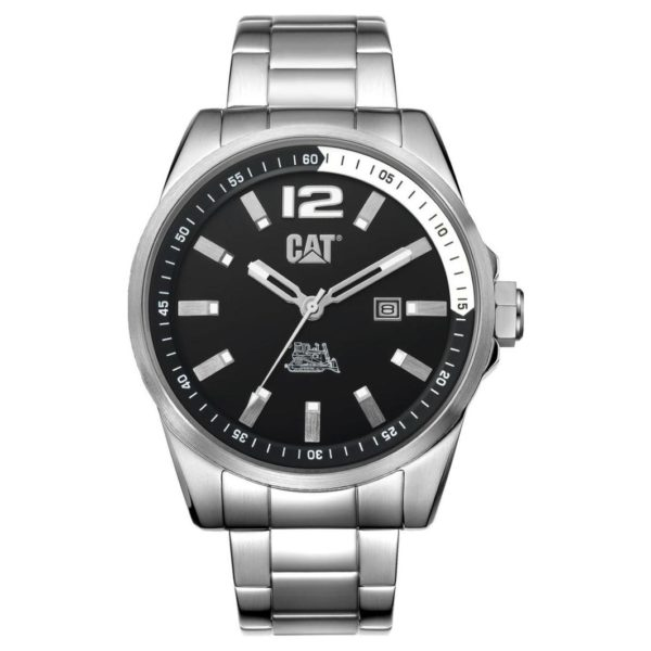 CAT Silver Quartz Men's Watch - WT14111131