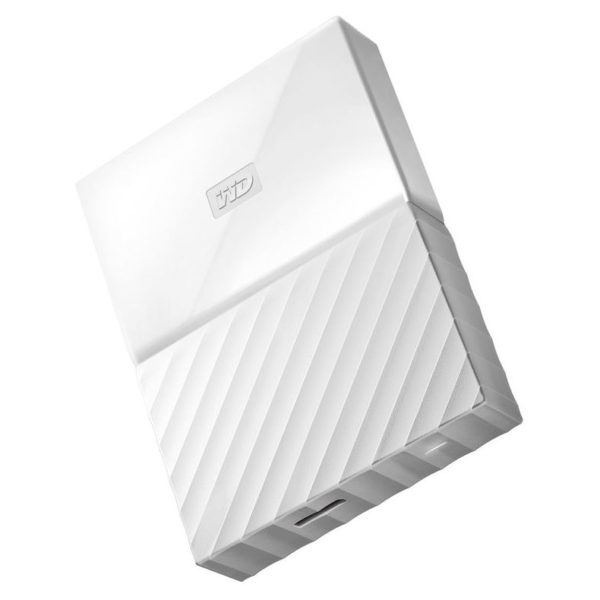 Western Digital My Passport Hard Drive 2TB White WDBS4B0020BWT-WESN