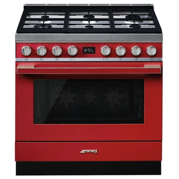 Smeg 6 Gas Burners Cookers CPF9GMR