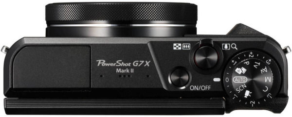 Canon Power Shot G7X Mark II Digital Camera Black