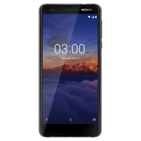 Nokia 3.1 16GB Black Chrome Dual Sim Smartphone TA1063