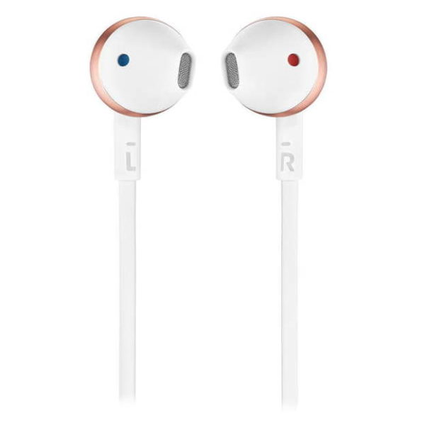 JBL T205 Wired Earbud Headphone Rose Gold