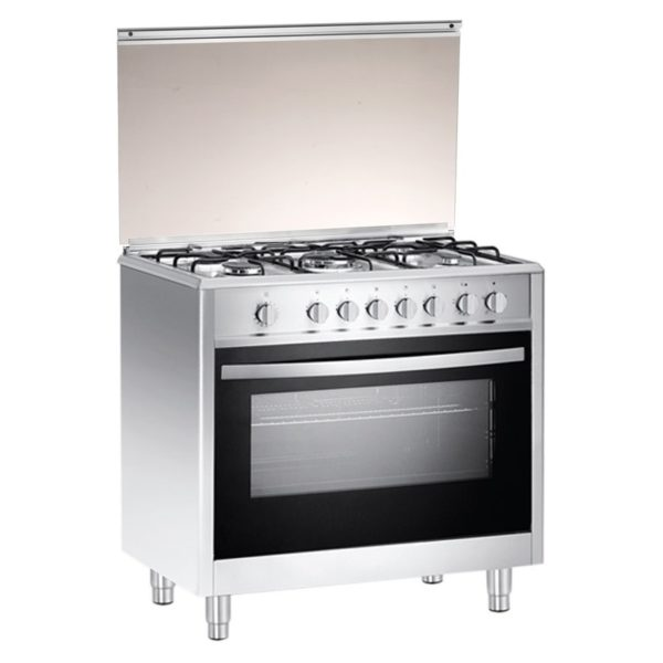 Campomatic 5 Gas Burners Cooker C965XRS + WM709 Front Load Washer + CS180 Rice Cooker