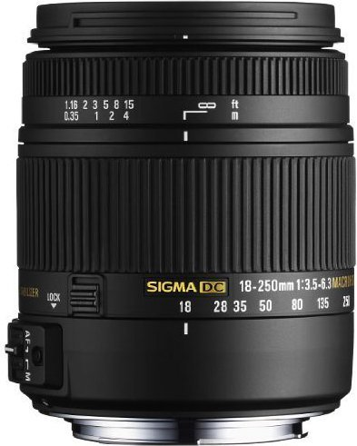 Sigma 18-250mm f3.5-6.3 DC Macro OS HSM Lens For Canon