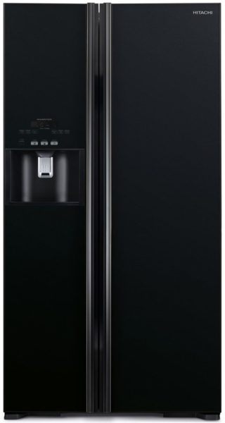 Hitachi Side By Side Refrigerator 700 Litres RS700GPUK2GBK