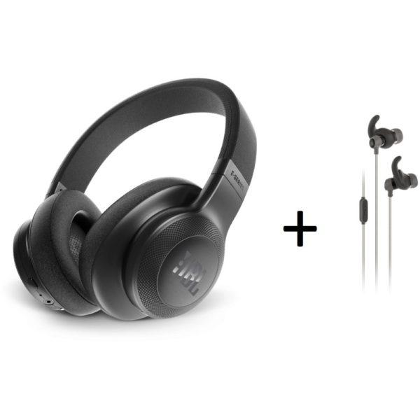 f7fa6db3087 JBL E55BT Over Ear Headphone + REFMINI Reflect Mini Sports In Ear Headphone