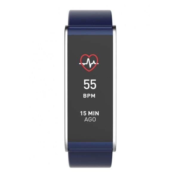 MyKronoz ZeFit4HR Activity Tracker Blue/Silver