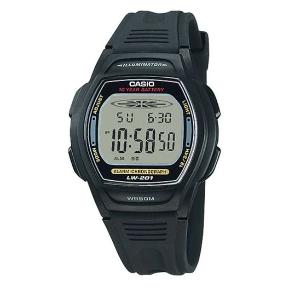 Casio LW-201-1AV Watch