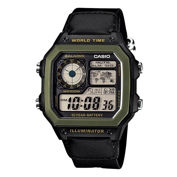 Casio AE-1200WHB-1BV Youth Unisex Watch