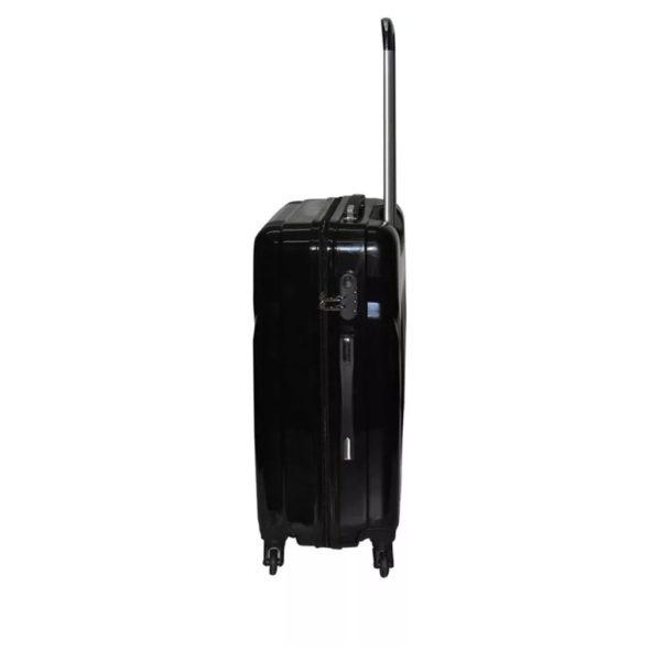 Highflyer Terminator Trolley Luggage Bag Black 4pc Set TH1609PPC4PC