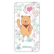 Eklasse Bear Print Power Bank 10000mAh - EKPB10020PT