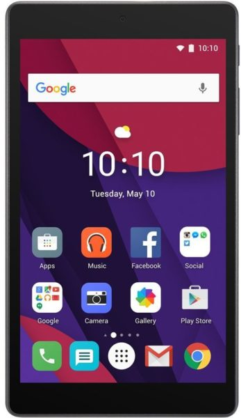 Alcatel Pixi 4 4G 7 Tablet - Android WiFi+4G 16GB 1GB 7inch Black