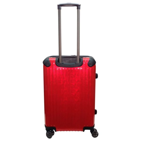 Highflyer T1000 Trolley Luggage Bag Red 3pc Set TH1000PPC3PC