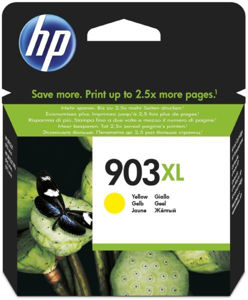 HP 903XL T6M11AE High Yield Yellow Original Ink Cartridge