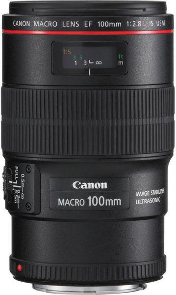 Canon EF 100mm f2.8L Macro IS USM Camera Lens