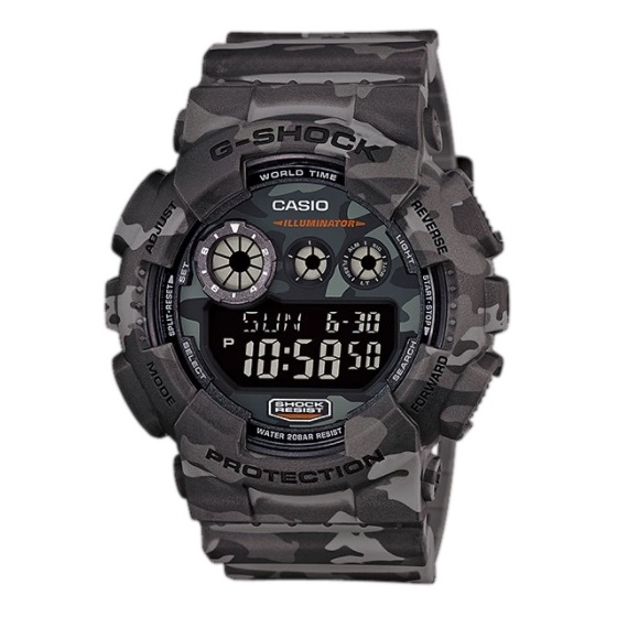 Casio GD-120CM-8 G-Shock Watch