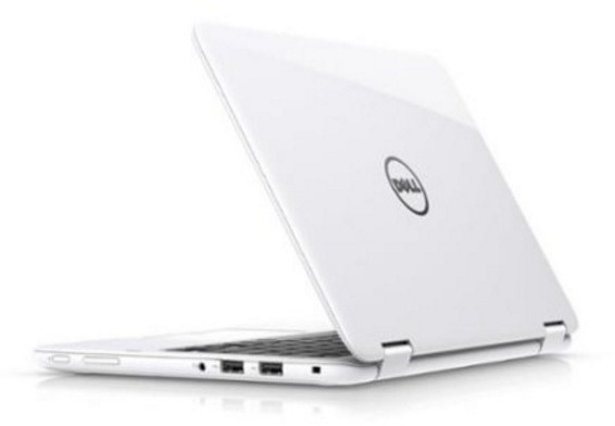 Dell Inspiron 11 3168 Convertible Touch Laptop - Pentium 1.6GHz 4GB 500GB Shared Win10 11.6inch HD White