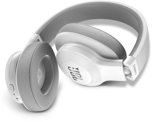 JBL E55BT Over Ear Headphone White