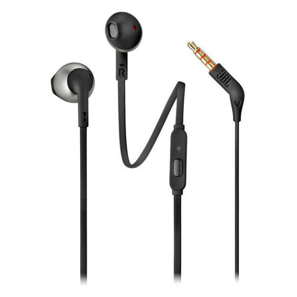 Jbl Wired Headphones With Mic | Jbl T205 Wired Earbud Headphone Black Price Specifications