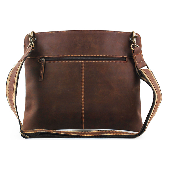 Byond ABBOTTTAB Tablet Sling Bag Dark Brown