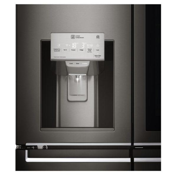 LG InstaView Door-in-Door Side By Side Refrigerator 889 Litres GRX39FTKHL