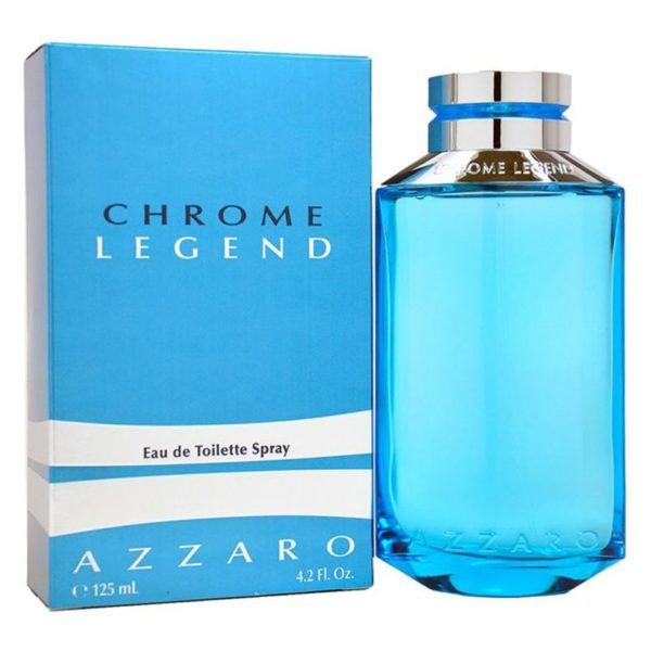 Azzaro Chrome Legend Perfume For Men 125ml Eau de Toilette