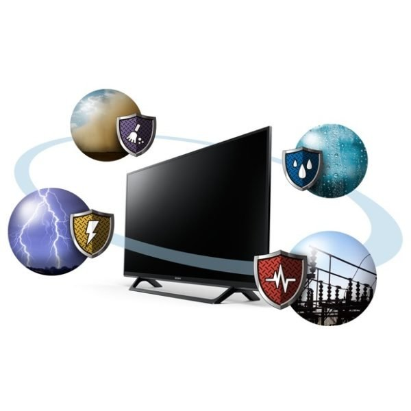 Image result for Sony KDL-49W660E Full HDR TV 49 Inch Black