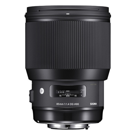 Sigma 85mm F1.4 DG HSM Art Lens For Canon