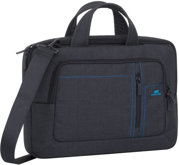 Rivacase Laptop Canvas Shoulder Bag 13.3inch Black 7520 Price ... ebc641c088