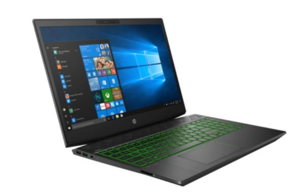 HP Pavilion 15-CX0009NE Gaming Laptop - Core i7 2.2GHz 16GB 1TB+128GB 4GB Win10 15.6inch FHD Shadow Black/Acid Pattern
