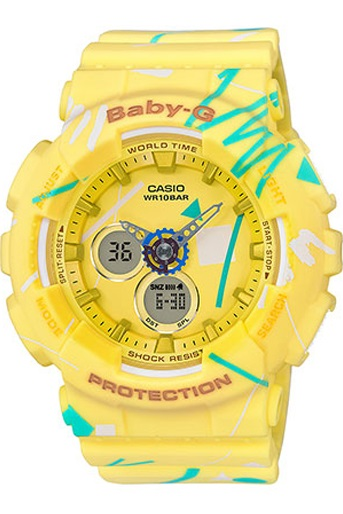 Casio BA-120SC-9ADR Baby G Watch