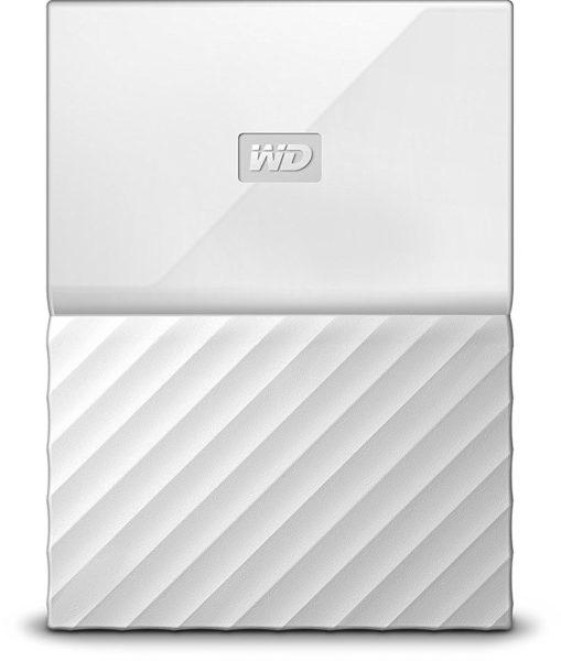 Western Digital My Passport Hard Drive 1TB White WDBYNN0010BWT
