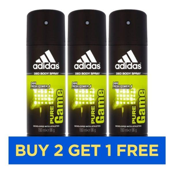 Adidas Pure Game Men 150ml - Buy 2 Get 1 Free