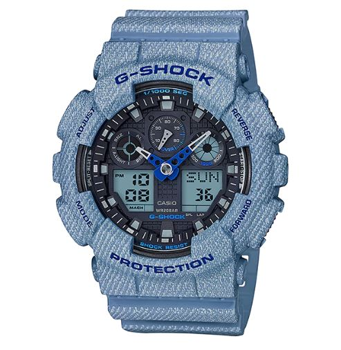 Casio GA-100DE-2ADR G-Shock Watch