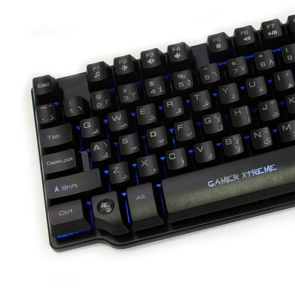 Trands TRKB2392 Mechanical Backlit Keyboard