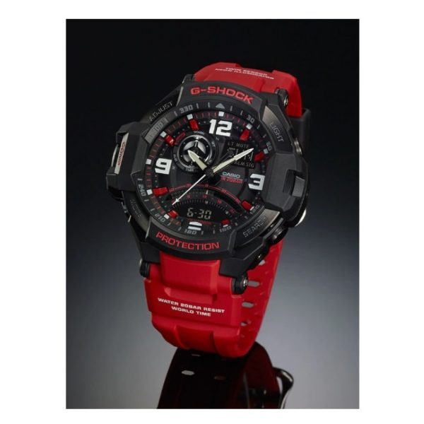 Casio GA10004BDR G Shock Gravity Master Watch