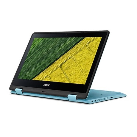 Acer Spin 1 SP111 Convertible Touch Laptop - Celeron 1.10GHz 4GB 500GB Shared Win10 11.6inch HD Blue