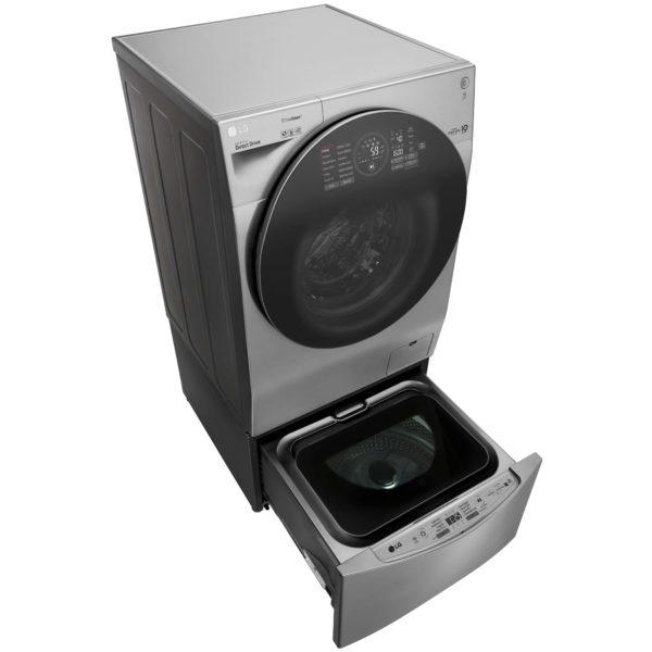 LG TWINWash 12kg Washer & 7kg Dryer FH4G1JCH6N&F8K5XNK4