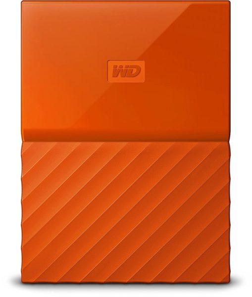 Western Digital My Passport Hard Drive 1TB Orange WDBYNN0010BOR