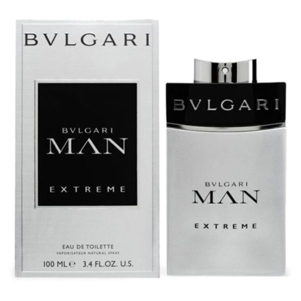 Bvlgari Man Extreme Perfume For Men 100ml Eau de Toilette