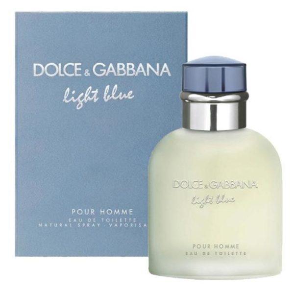 Dolce & Gabbana Light Blue Perfume For Men 125ml Eau de Toilette