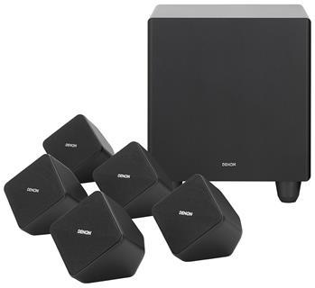 Denon SYS2020 5.1 Home Theater Speaker Package - Black
