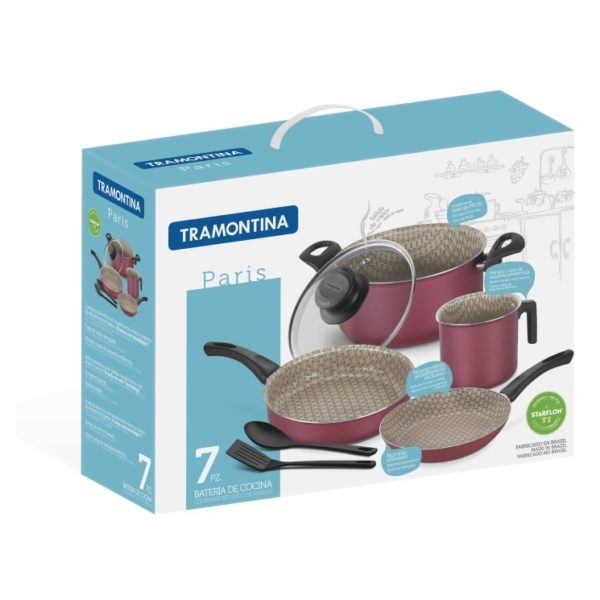 Tramontina Paris Cookware 7pc Set 20599789