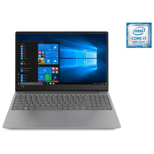 Lenovo Ideapad 330s Laptop - Core i7 1.8GHz 12GB 1TB+128GB 4GB Win10 15.6inch FHD Iron Grey