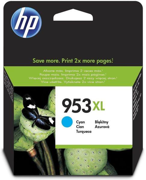 HP 953XL F6U16AE High Yield Cyan Original Ink Cartridge