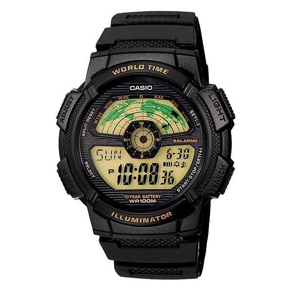 Casio AE-1100W-1BV Watch