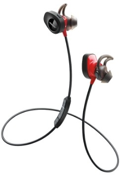 Bose  SoundSport Pulse Wireless Headphone Red 7625180010