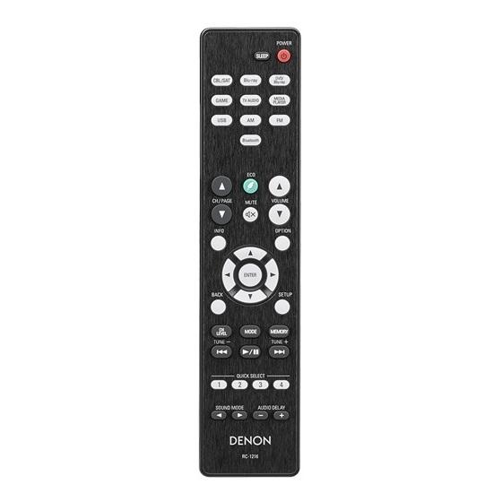 Denon AVRX550BT + Taga TAV506V2+TSW90V3 5.1 Home Theater Package