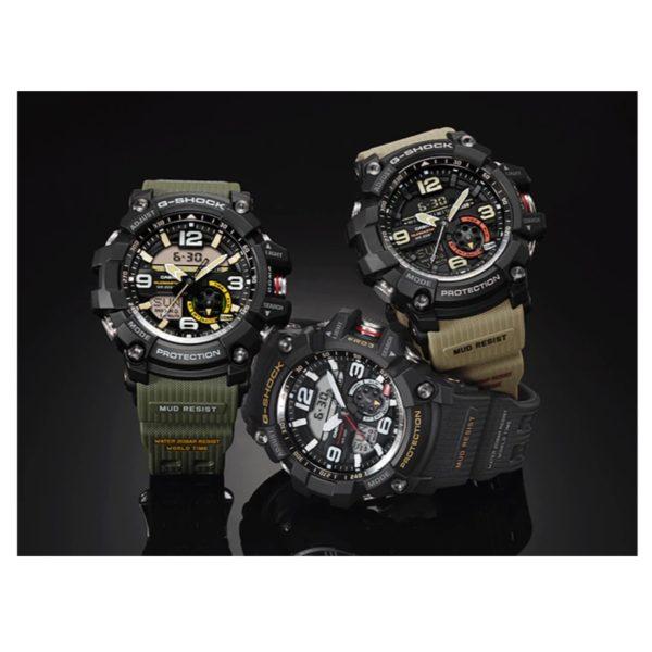 Casio GG10001A3DR G Shock MudMaster Watch